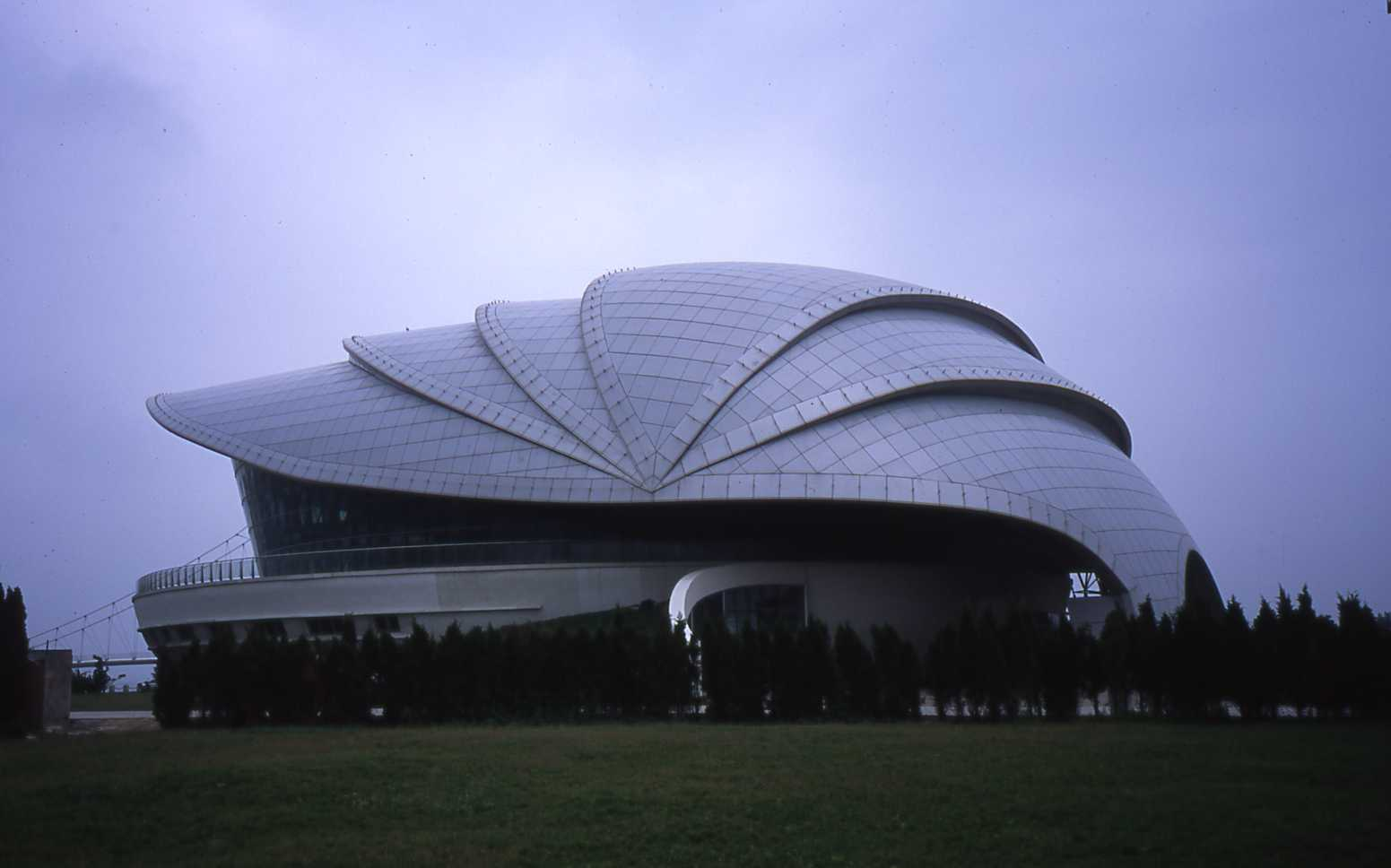 Name Of Building: Shell Museum New Building ??? Construction Year: 2010;  Structural System: Space Frames; Primary Use: Architect: Architect2 ...